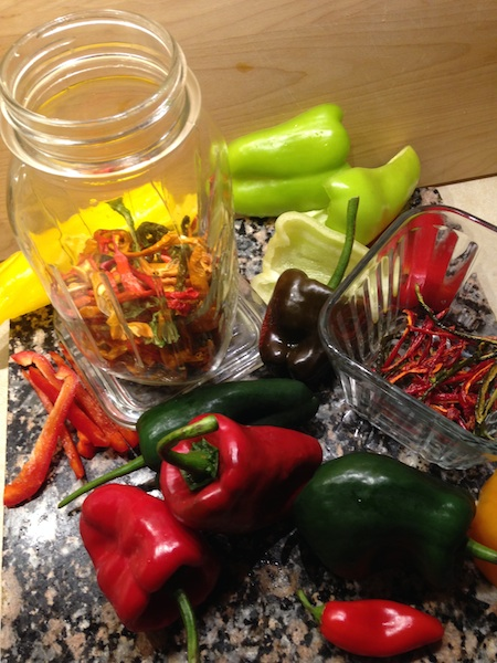 Dried Peppers (and other Produce)