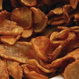 Baked Parsnip Crisps