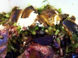 Beet Fennel Salad