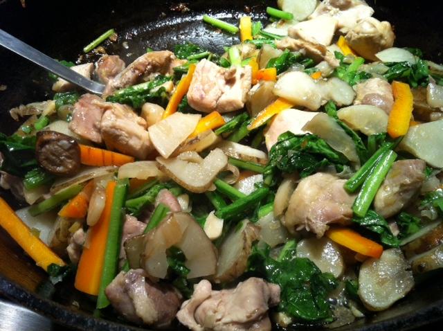 Stovetop Chicken Veggie Braise