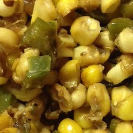 Pan-Fried Corn