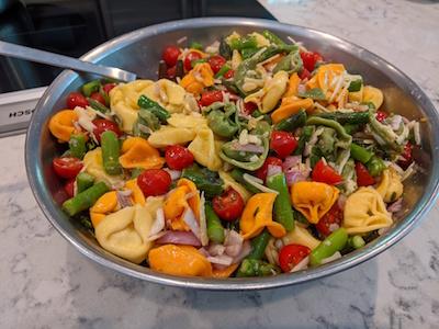 Tortellini Asparagus Salad