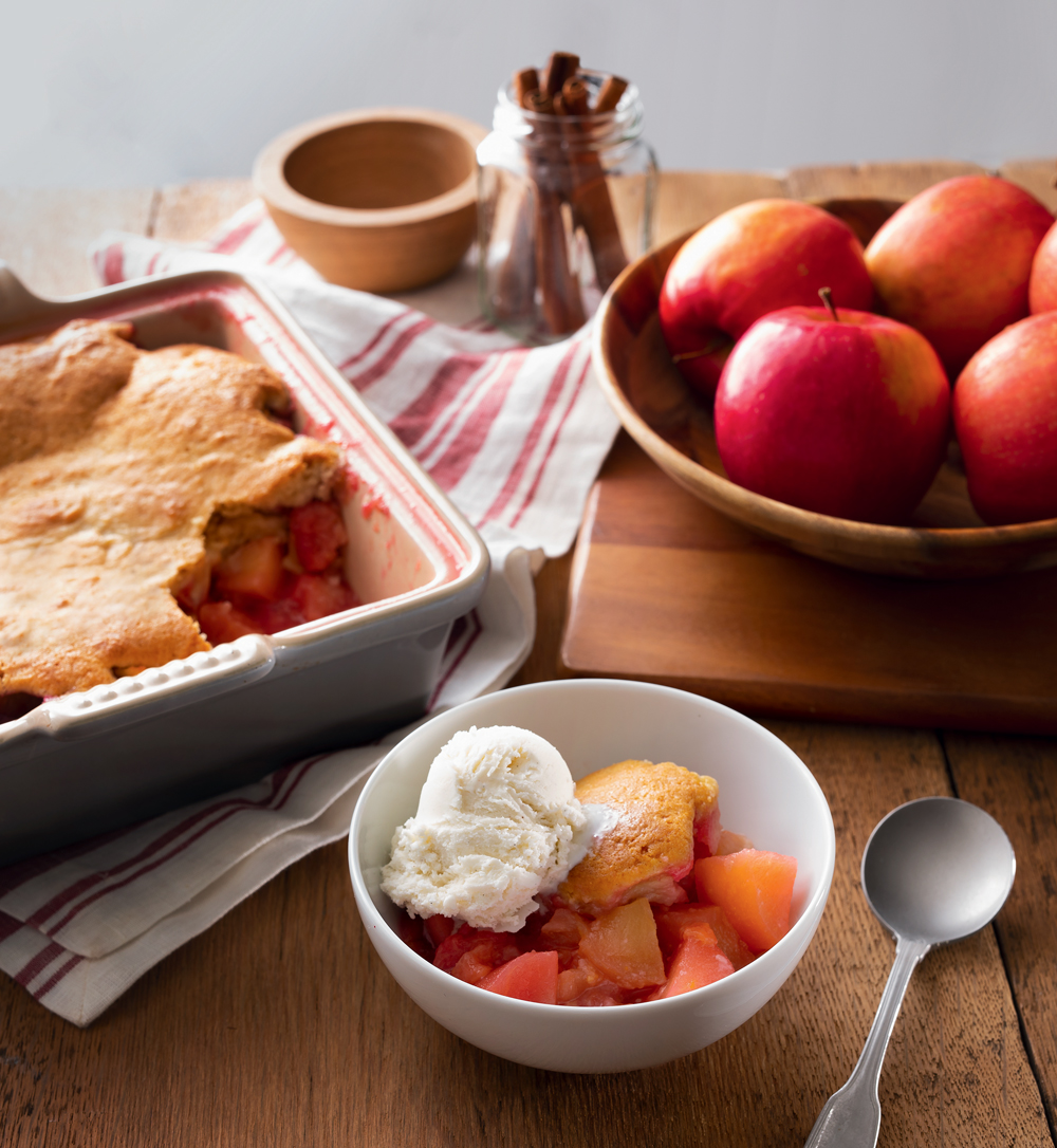 Peach Apple Cobbler