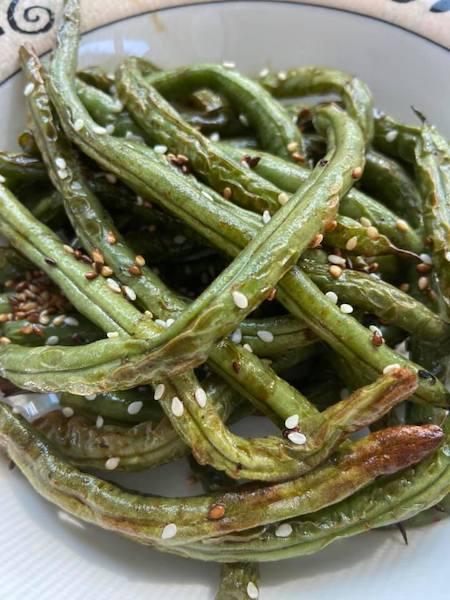 Charred Sesame Green Beans